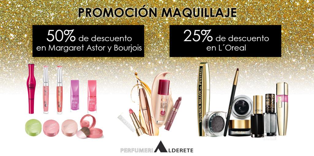 Promoción maquillaje Perfumerias Alderete