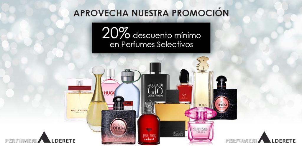 Descuentos perfumería selectiva Perfumerías Alderete