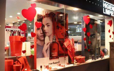 Sal Valentín 2021: Perfumerías Alderete se viste para la ocasión…
